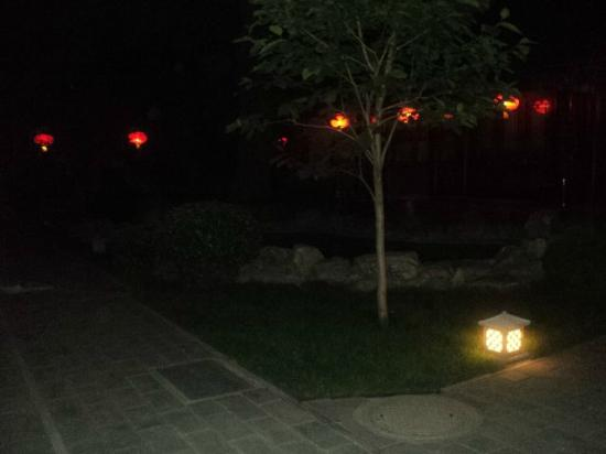 Soluxe Sunshine Courtyard Hotel: Courtyard at night