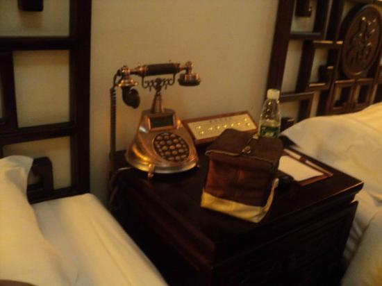 Soluxe Sunshine Courtyard Hotel: Interesting telephone