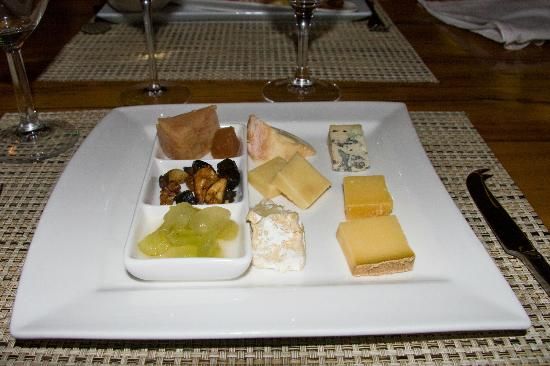 Aubergine: Cheese Plate