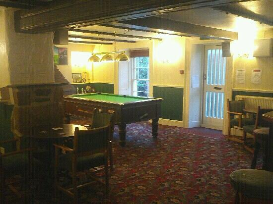 The Coppice at Lanner: pool room