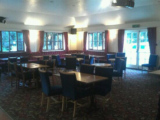 The Coppice at Lanner: main bar - seating