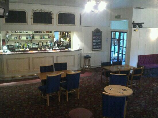 The Coppice at Lanner: main bar.