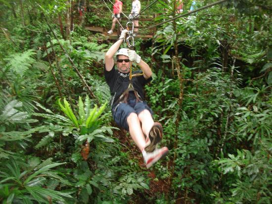 ULTIQA at Fiji Palms Beach Resort: zipline