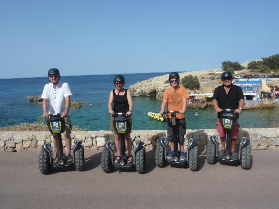 Segpark Cala Ratjada: Hafentour