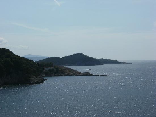 Hotel Bellevue Dubrovnik: view from top of hotel bellevue