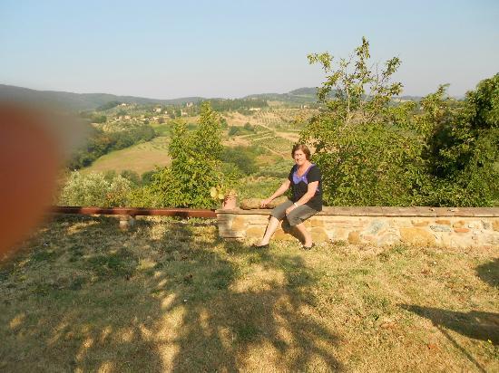 Agriturismo Santa Croce: Linda vista!