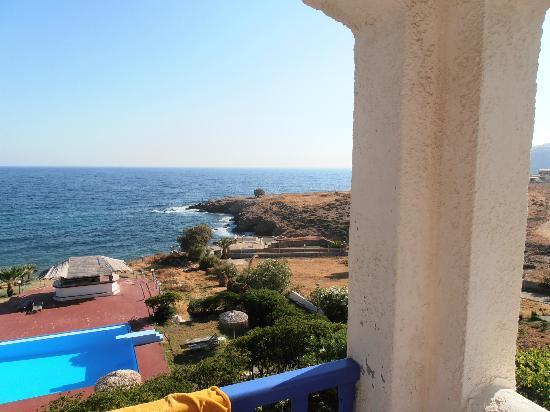 Hotel Stella Beach: visuale dal balcone