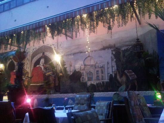 Jaipur : giardino interno