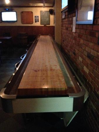 The Cellar Pub: Free Shuffleboard