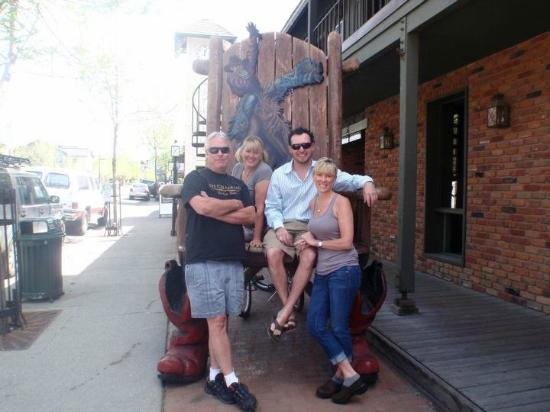 The Cellar Pub: Owners in the BIG Chair