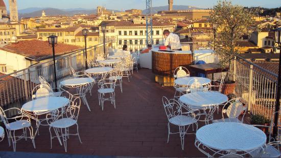Croce di Malta Hotel : terrasse sur le toit