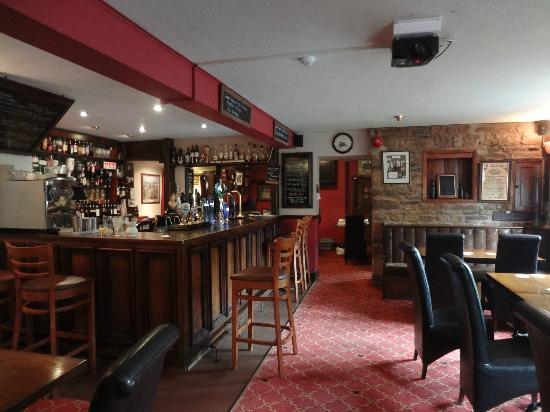 Great Rissington, UK: The bar