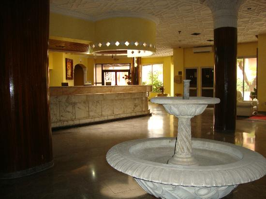 Agdal Hotel : the hall and reception