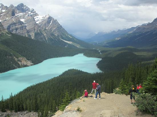 Glenogle Mountain Lodge & Spa: Peyto Lake