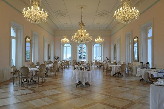 Hotel Bernina 1865: Sala Imperiale - vista stupenda