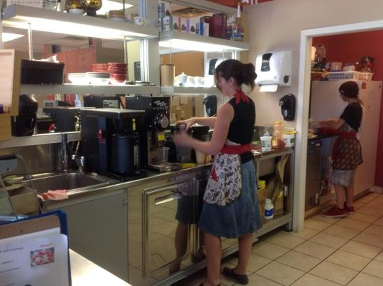 Dogtown Coffee Co. : Ladies performing their magic