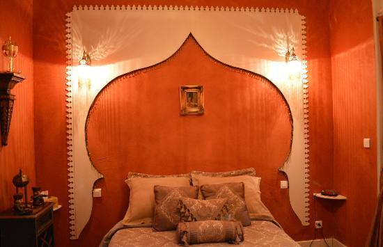 A La Fleur d'Oranger: La chambre