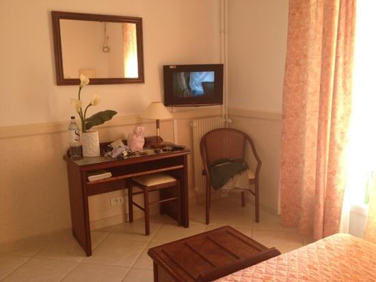 Hotel des Roches : la camera