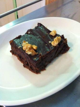 Mangetout Deli: Mange Tout's legendary chocolate brownies
