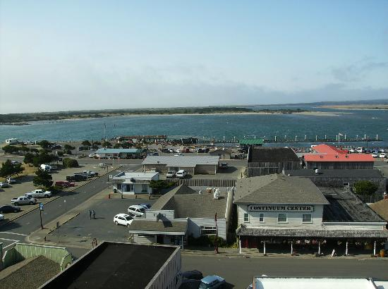 Bandon Inn: Old Town from balcony