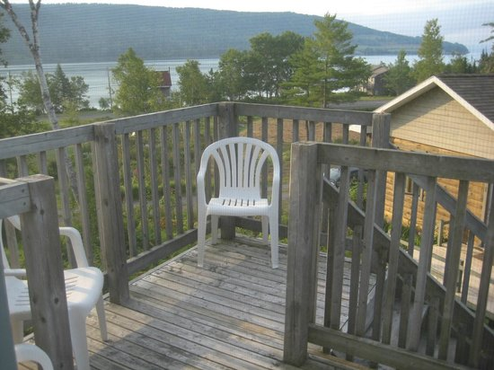 Broadwater Inn: View from the deck