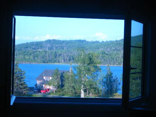 Broadwater Inn: View from the bedroom window