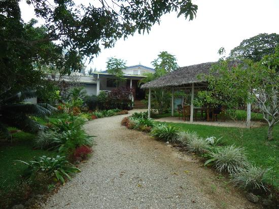 Lotus Day Spa & Cafe: The beautiful grounds of Lotus Day Spa