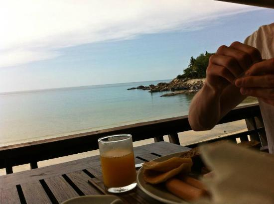 Samui Paradise Chaweng Beach Resort: Breakfast with a view