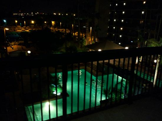Holiday Inn Phoenix - Mesa/Chandler: The view from our balcony.