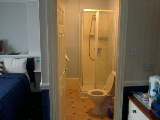 Branston Lodge Guest House: Bathroom.