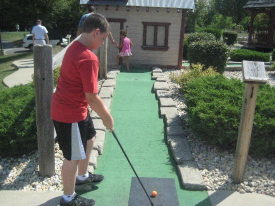 Holiday Inn Club Vacations Fox River Resort: Mini golf