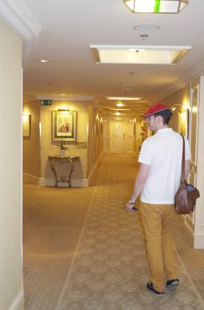 Grand Hotel Wien: Hallway