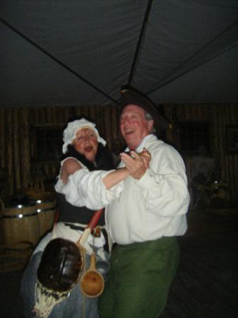 Point of View Suites at Louisbourg Gates: Laughter and dancing is the order for the night!