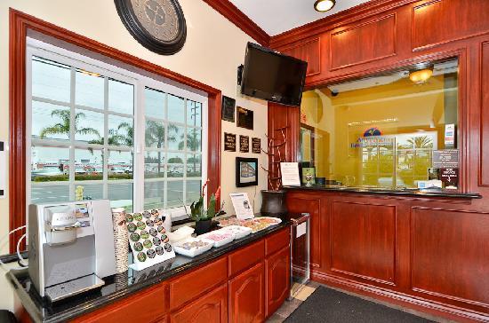 Americas Best Value Inn Westminster / Huntington Beach: Our Office