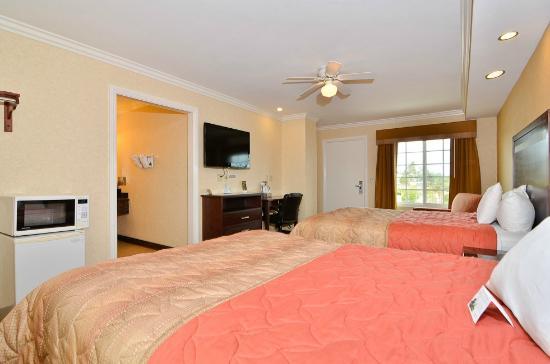 Americas Best Value Inn Westminster / Huntington Beach: 2 Queen Bedroom