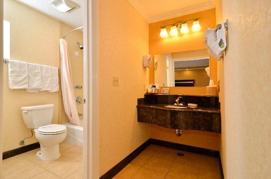 Americas Best Value Inn Westminster / Huntington Beach: Gorgeous Bathroom