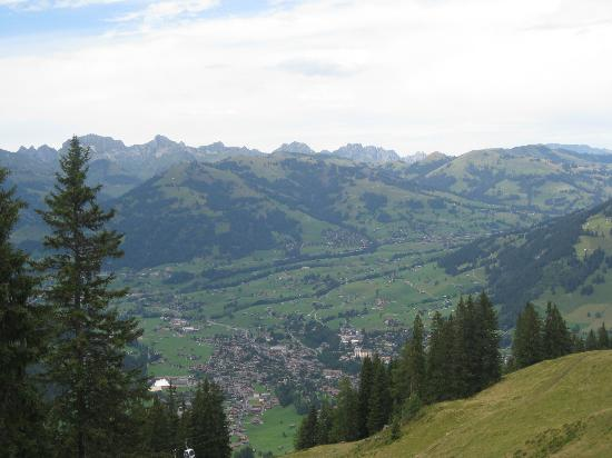 Posthotel  Roessli: View of Gstaad