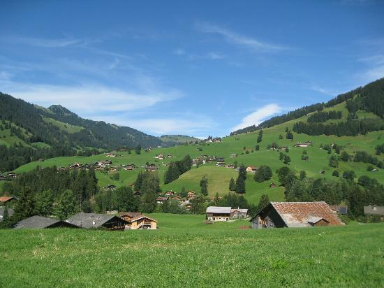 Posthotel  Roessli: View of Gstaad area