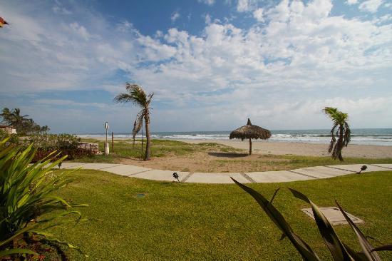 Estrella Del Mar Resort Mazatlan: Vista a la playa desde mi habitación