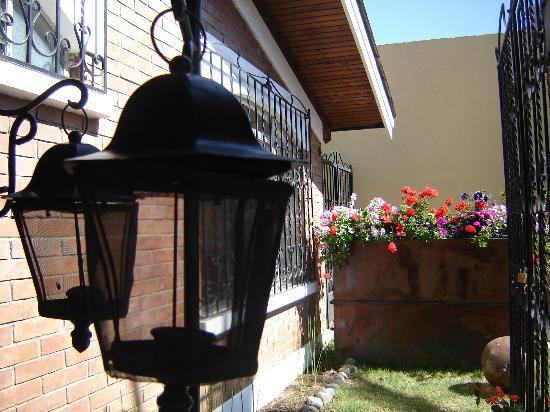 Dai Nonni Hotel: jardin de entrada