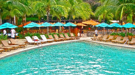 Four Seasons Resort Costa Rica at Peninsula Papagayo: Family pool next to Brazilian Rest