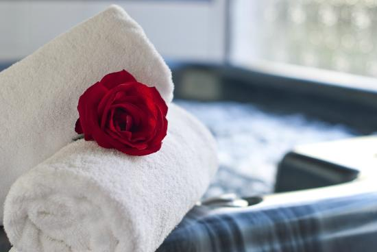 Swiss Chalet Lodge Motel: Private Spa/Jacuzzi