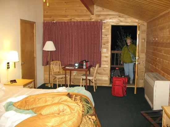 Denali Backcountry Lodge: Cabin 39, time to go...