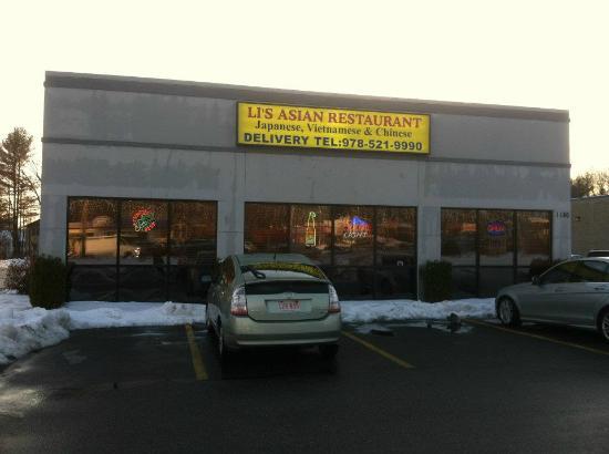 Are not Asian restaurant bradford