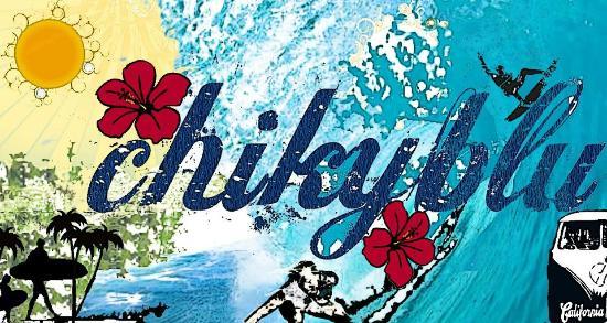 Chikyblu: logo