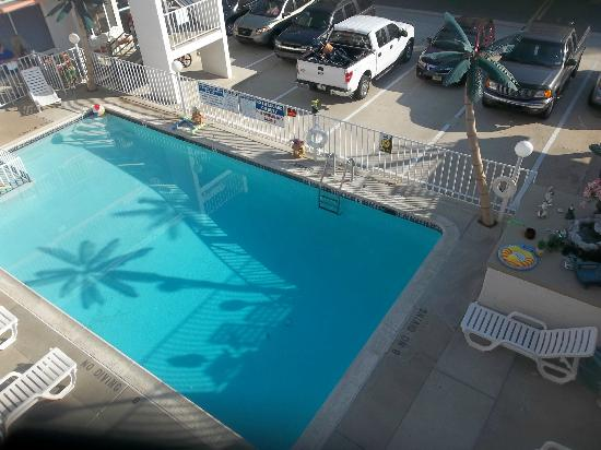 Sahara Motel : This is a beautiful pictuer of the pool area