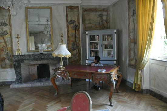 Hotellerie du Chateau de Floure : The reading room