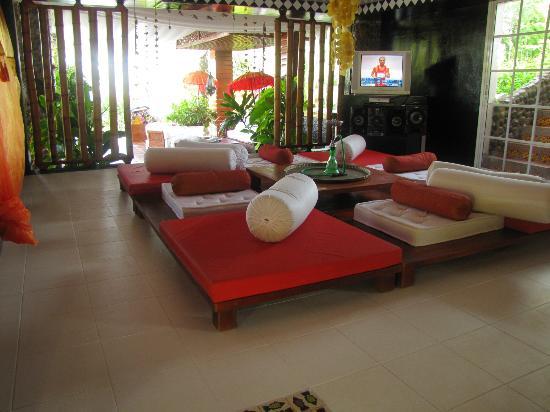 Buddha Villa: El area común