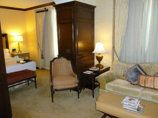 Hotel du Pont: Deluxe room