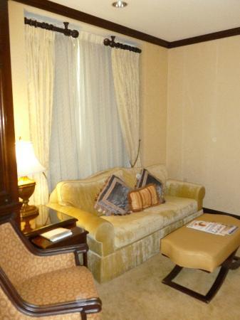 Hotel du Pont: Sitting room